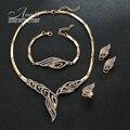 Люксовый Бренд Дизайн Мода Ювелирные Наборы Lady Vintage Ожерелье Женщины Rhinestone Браслет Conjuntos де Хойяс де Асеро Inoxidable