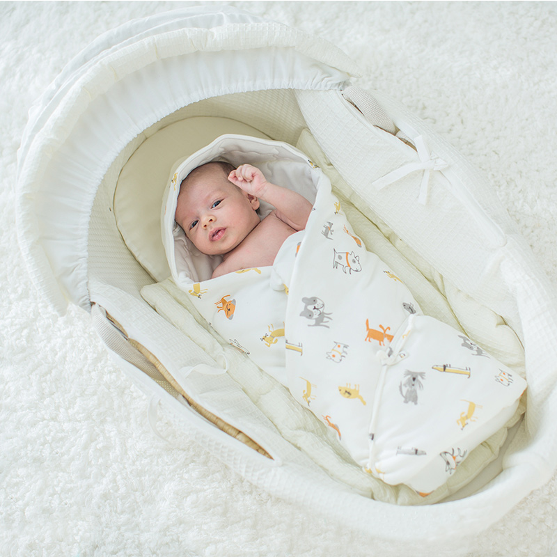 Baby Blanket Soft Cotton Baby Swaddle Thick Warm Envelopes For Newborns Baby Quilt Hooded Sleeping Bag For Infant 83x83cm play fold bird baby infant blanket soft babies swaddle child soft toys crame crib quilt bedroom tent playmat