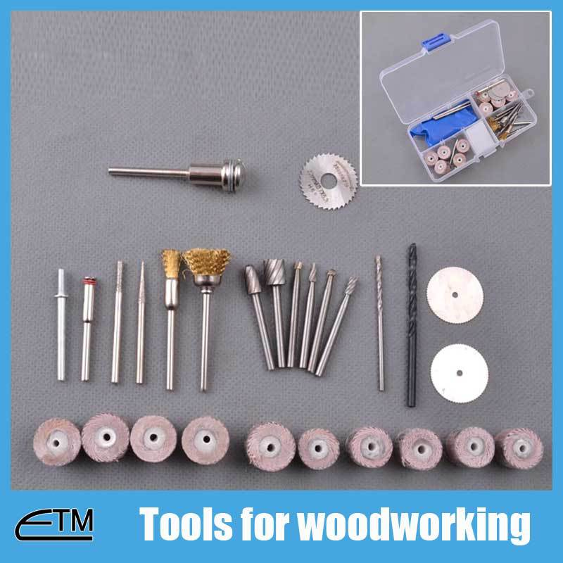 цена на Tools for woodworking dremel set circular saw disc mini drill rotary tools accessories wire brush flexible mounted points TB004