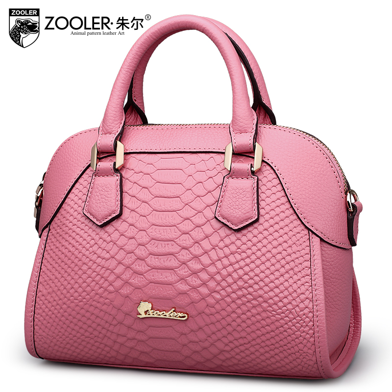 Hot ,Guarnteened 100% cowhide luxury women bag ZOOLER 2017 brands top handle bag leather shoulder bags bolsa feminina#1301