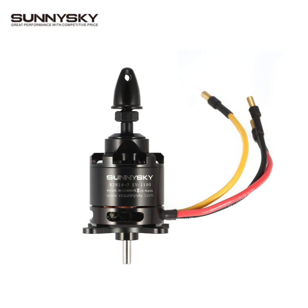 SUNNYSKY X2814 14P 1000 1100 1250 900 KV RC Motor 3-4S Outrunner Brushless Motor for 1-1.5KG RC Airplane Warbirds Bigplanes cobra motor cp2814 2000kv kv 2000 outrunner brushless motor for flying wings
