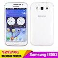 Originais do telefone samsung galaxy win i8552 android 4.1 quad core celular desbloqueado telefone 4.7 1 gb ram 4 gb rom