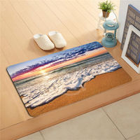 #W&330 Custom The fisherman fishing Doormat Home Decor Door mat Floor Mat Bath Mats foot pad PG-330s718tg