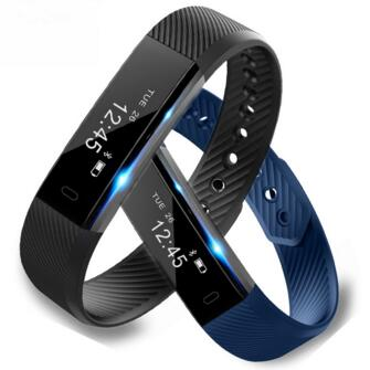 Hottest Smart Wristband ID115 Smart Band pedometer Fitness Tracker Clock Smart Bracelet for IOS android Pk