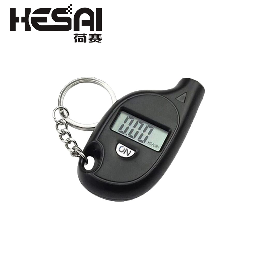 Mini LCD Digital Tire Tyre Keychain Air Pressure Gauge For Car Auto Motorcycle W310 Tire Pressure Gauge Digital LCD Tire Gauge