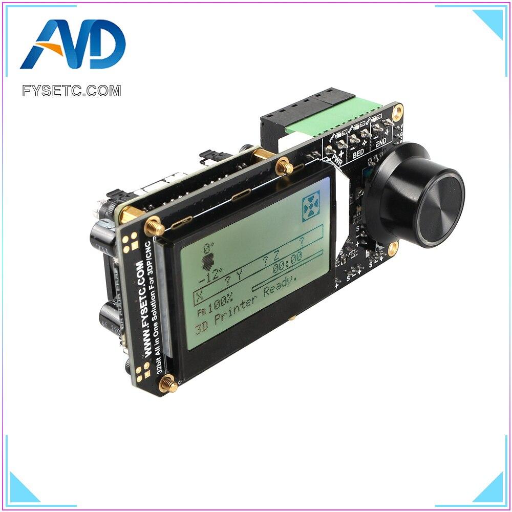 placa do controlador de aio ii v3 2 tudo em um ii 32bit mainboard mcu 32bit