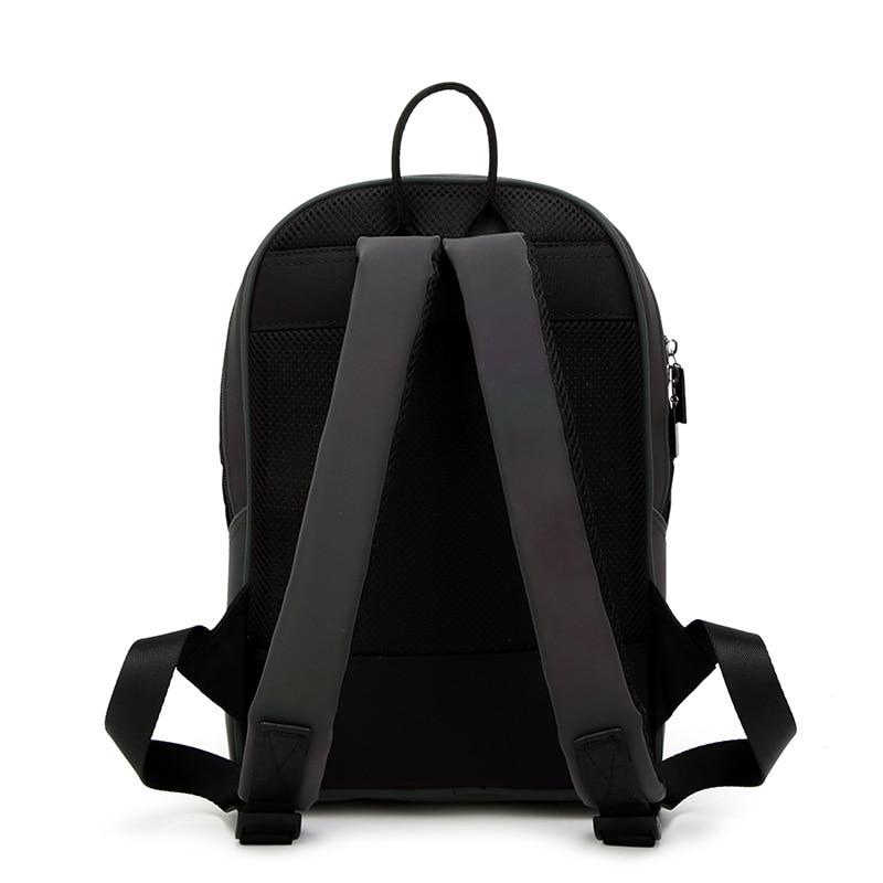 Diomo New Luminous Irregular Triangle Sequin Backpack For Women Fashionable Rucksack Female Backbag Korean #4