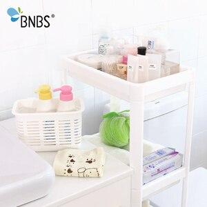 Image 5 - BNBS ห้องน้ำ Organizer ชั้นวาง Over ห้องน้ำผู้ถือชั้นวางสำหรับห้องครัวอุปกรณ์จัดเก็บชั้นวางตะกร้าเก็บอุปกรณ์เสริม