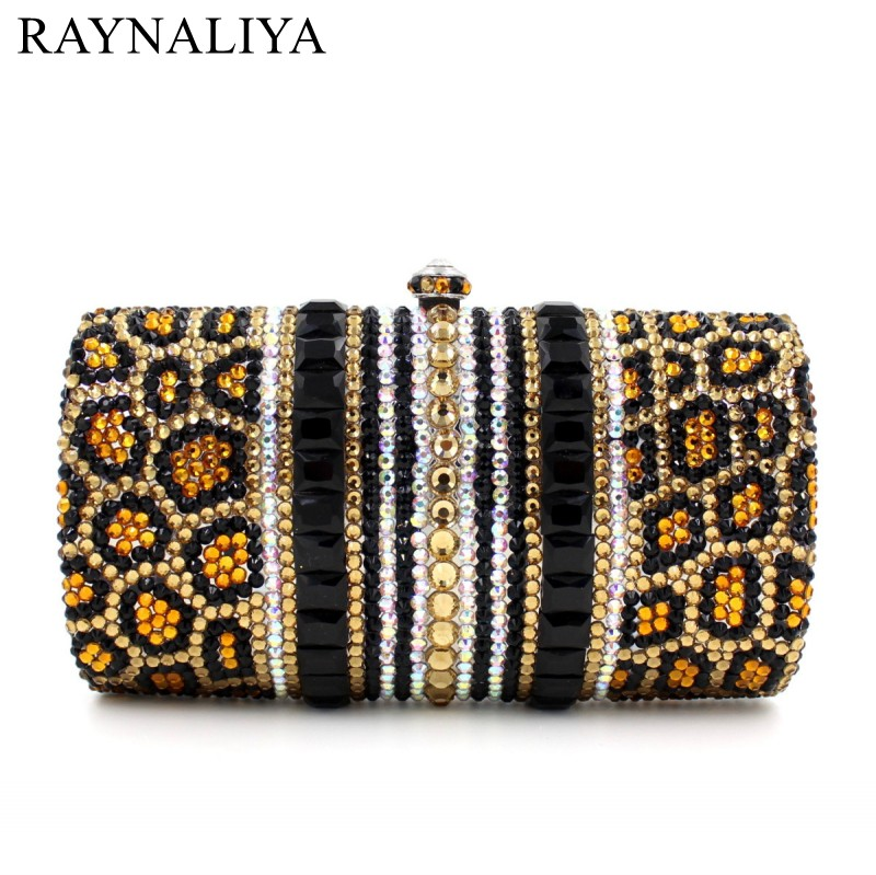 Evening Bag Crystal Studded Clutch Bag With Chain Shoulder Bag Women Night Club Party Purse Diamonds Minaudiere Smyzh-e0089 luxury crystal clutch handbag women evening bag wedding party purses banquet