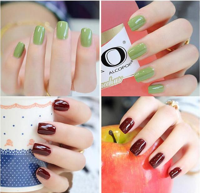 Popolare 2015 Korean Style Uv Gel Polish Nail Art Soak Off 8Pcs Colors 6ml  DT93