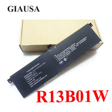 Giausa r13b01w r13b02w bateria genuína para xiao mi ar 13.3