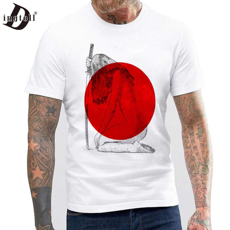 Dingtoll китайский Стиль кунг-фу Панда», новинка, футболки для мужчин в стиле Харадзюку Для мужчин студентов мягкие футболки MTE27
