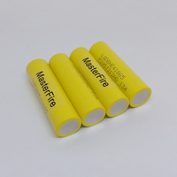 MasterFire Wholesale 100% Original LGDBHE41865 2500mAh HE4 Battery 18650 3.7V power electronic batteries 20A discharge For LG