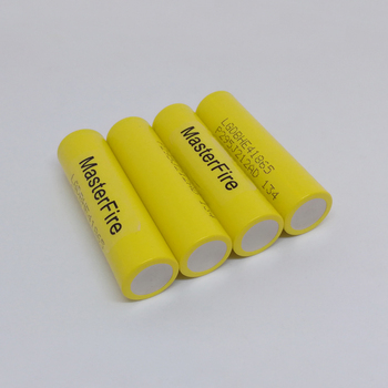 Wholesale MasterFire 100% Original LG LGDBHE41865 2500mAh HE4 Battery 18650 3.7V power electronic batteries 20A discharge