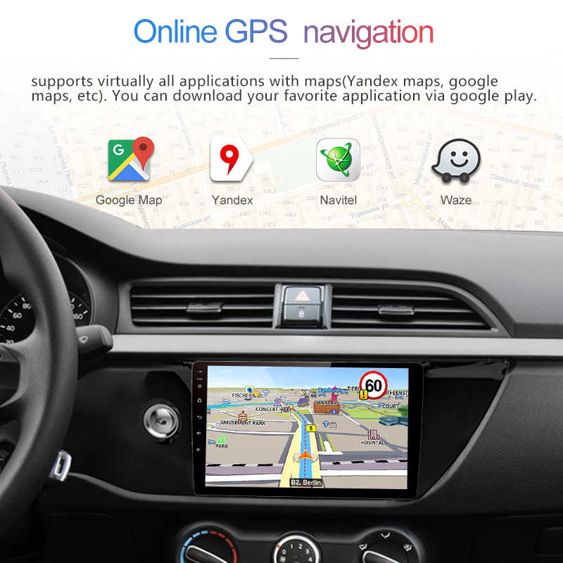 "Junsun 4 г LTE Android 8,1 2 + 32 автомобиля радио мультимедиа видео плеер gps навигации 9 ""для KIA RIO 2017 2018 седан din нет dvd"