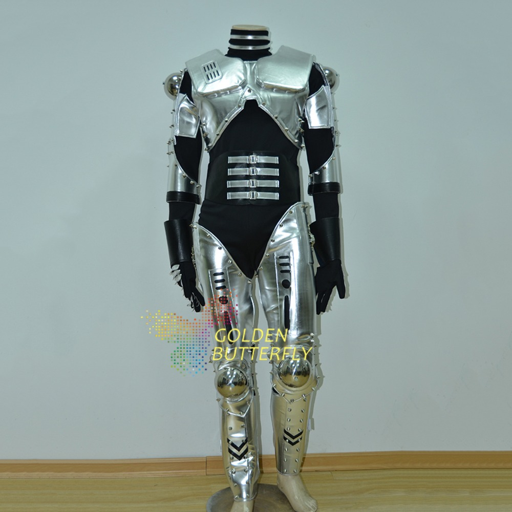 Led Robot Costume Luminous Light