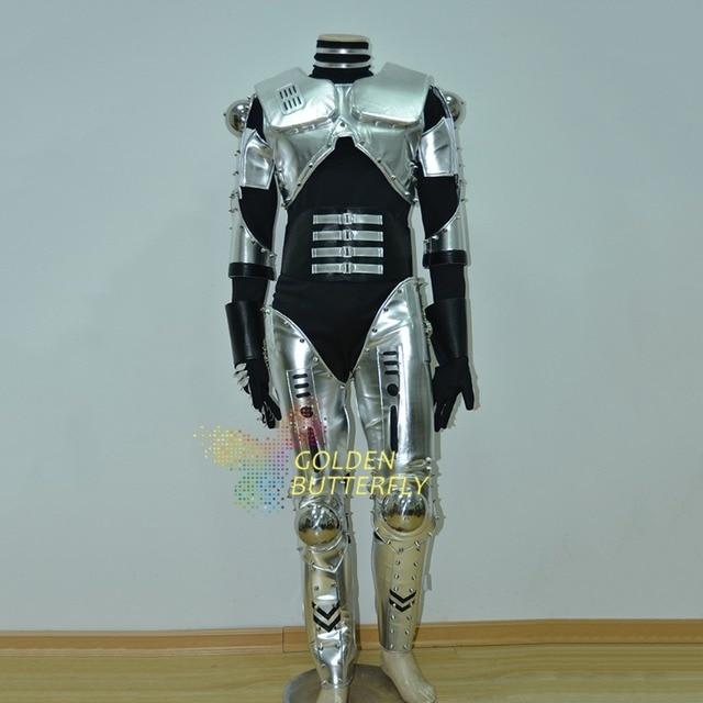 LED Robot Costume Luminous Light Clothing Dance Suit Men Show Halloween Mardi Gras Carnival Science Fiction & LED Robot Costume Luminous Light Clothing Dance Suit Men Show ...