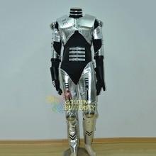 LED Robot Costume Luminous Light Clothing Dance Suit Men Show Halloween Mardi Gras Carnival Science Fiction Movie Robot Costumes