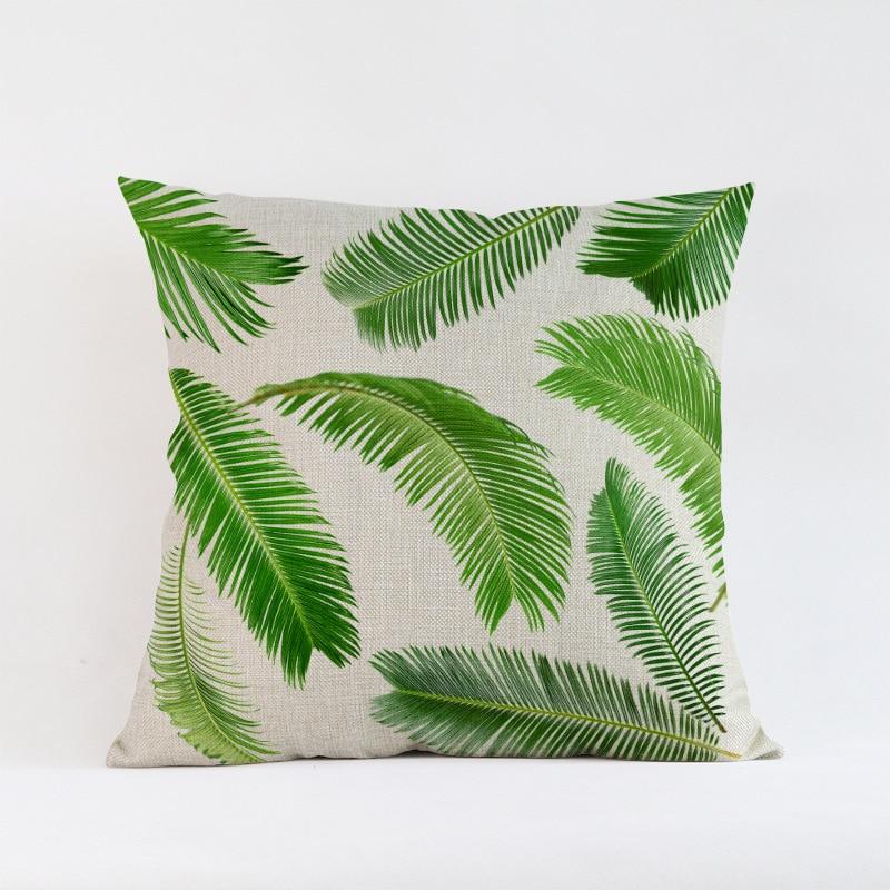 Ventas calientes Hojas verdes planta de follaje Creativo Patrón de - Textiles para el hogar - foto 4
