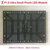 Factory sales P1.6/p1.667 ultra smallest pixels 4k full color led module for high defination led video wall led screen display