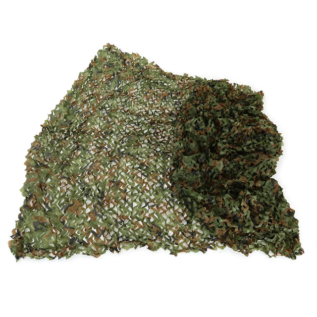 3X4m Hunting Camping Camo Net Woodland Leaves Camouflage Net Jungle Leaves Camo Net For Hunting Military Car Shade Cloths Cover