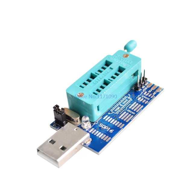 Multi function USB SPI 25X BIOS CH341A programmer MSI motherboard JSPI  online programming interface