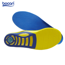 Bocan Sport insoles Professional Hiking Outdoor shoe insoles Shock Absorption massging gel insole foot health care for men/women
