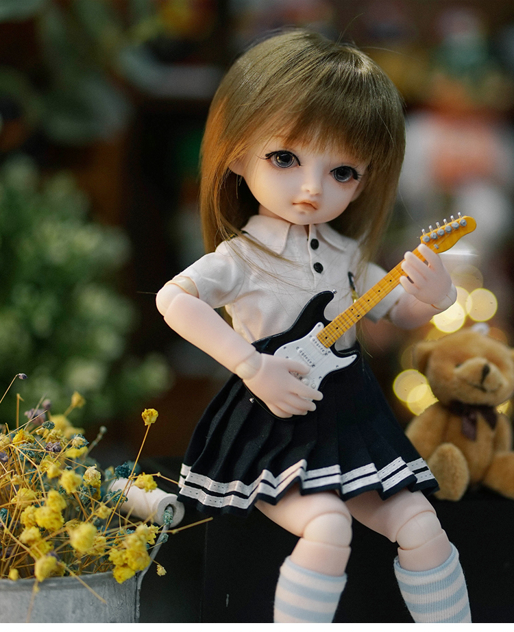 BJD Girl dolls 30 CM doll in Student wear doll for gift