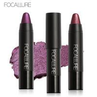Focallure Matte Shimmer Metallic Lipstick Long Lasting Nude Lips Makeup Glitter Pigments Lip Gloss Tint Sexy Lip Stick Kit Brand