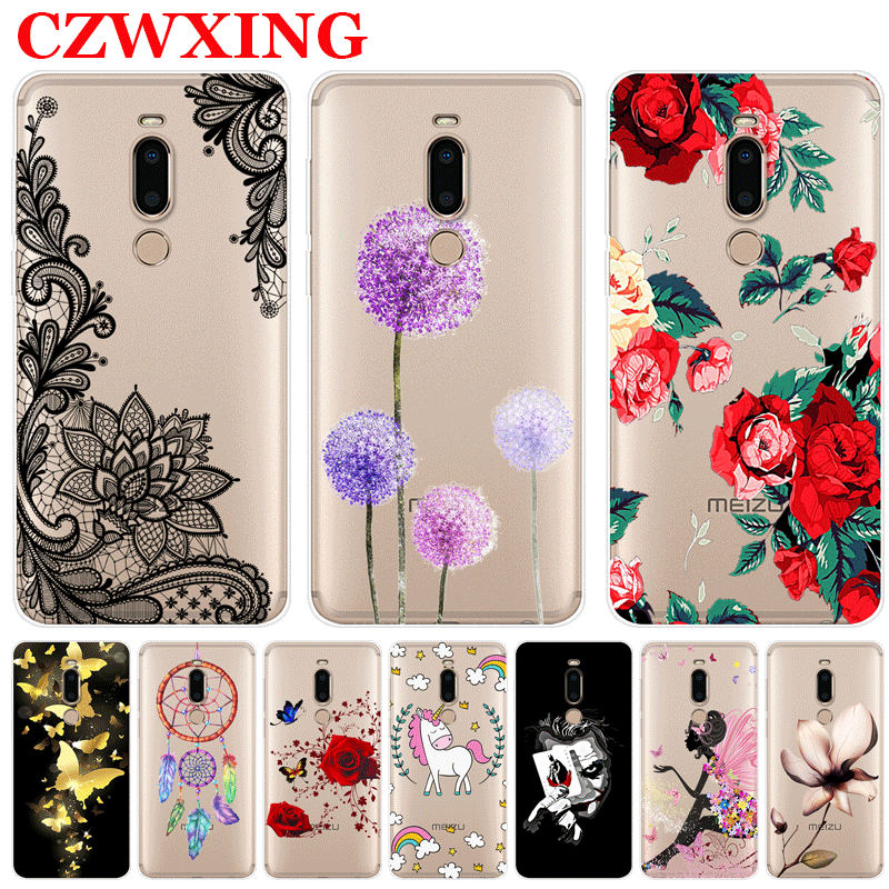 For Meizu M8 Case Meizu M8 Lite Case Silicone Soft TPU Phone Case For Meizu M8 M 8 Lite MeizuM8 M8Lite 5.7 Inch