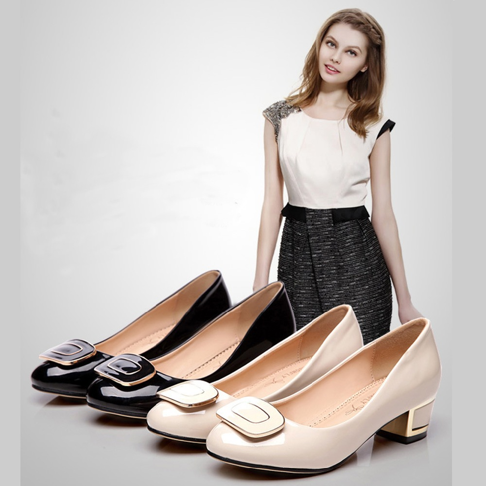 lowes career promotion shop for promotional lowes career on 2016 new ladies sweet black sexy buckle women mary janes pumps low heel office career shoes for women princess shoes big us 9