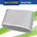 100CM x 100CM Vehicle Car Thermal Heat Shield Sound Insulation Proof Mat Deadener Noise Control Deadening Backed Self-adhesive