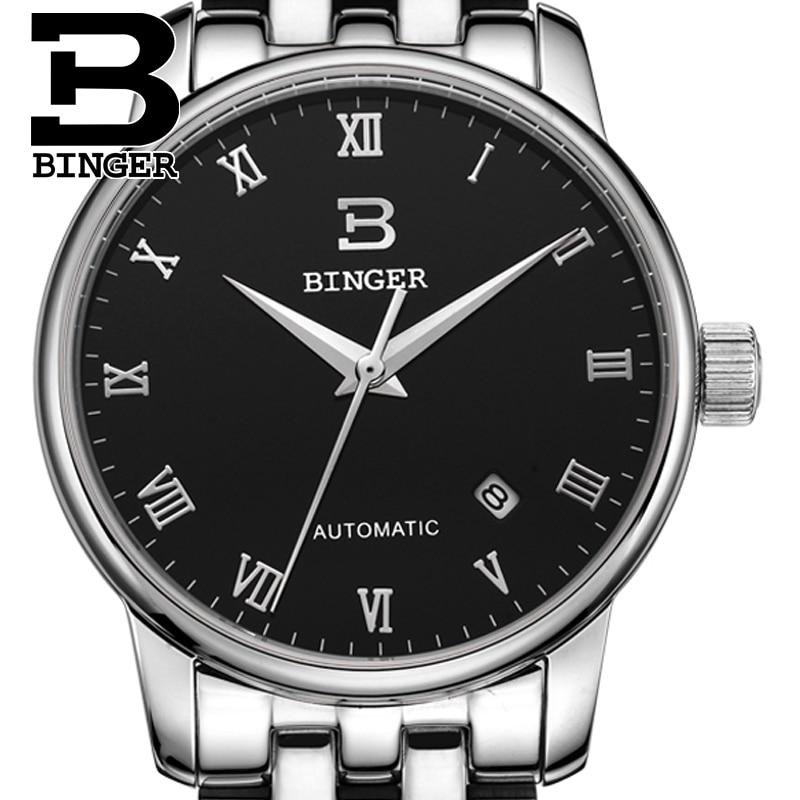 Zwitserland horloges heren luxe merk18K goud Horloges BINGER bedrijf - Herenhorloges - Foto 4