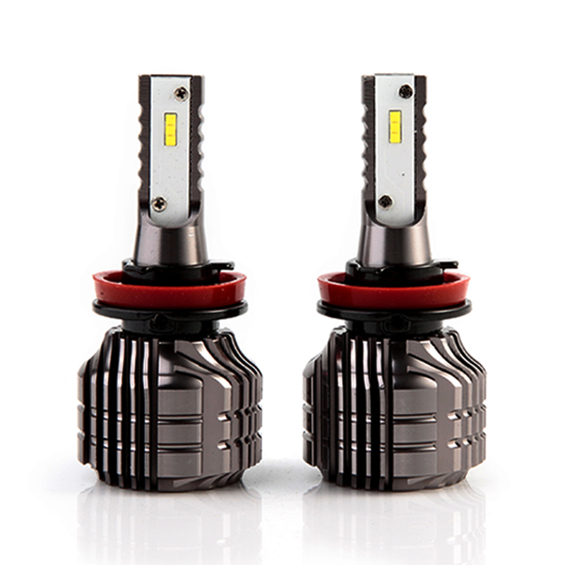 2018 newest H11 H1 H3 HB3/9005 HB4/9006 H4 H7 Led Car light source CSP 9000lm 52W fanless vehicle fog lamp bulb white
