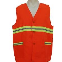 High Visibility Reflective Safety Vest Riding Running Safety Vest Sanitation Road Work Clothes Have Reflective Tape vest BX003a