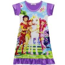 Новое платье для девочек, костюмы Миа, вечерние платья, детская одежда для выступлений для девочек