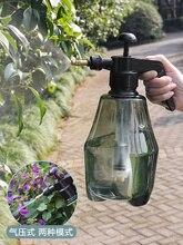 Купить с кэшбэком Big size 50 oz garden spray bottle 1500ML hand sprayer for plants and car washing, pump pressure spraying pot mist adjustable