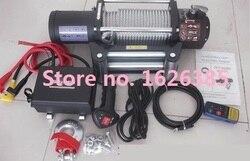 8000lb -- 20000lb 12V--24V электрическая лебедка с беспроводным пультом дистанционного управления водостойкий автомобиль Грузовик Авто баржа трейлер...