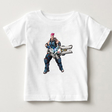 watch over SHIRT kid child boy toddler T SHIRT D.va Reaper Genji Hanzo SOLDIER76 Mercy Tracer Lucio clothes цена 2017