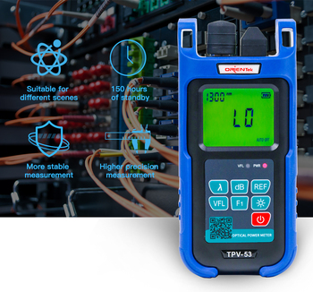 Mini 2-in-1 Fiber Optical Power Meter and 10mW 10km Visual Fault Locator Cable Tester