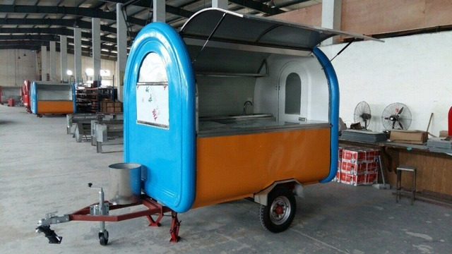 Food Vending Carts For Sale Mobile Truck Coffee Trailer