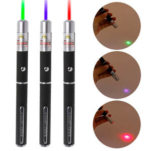 5 mW High Power Green Blue Red Laser Pointer For Hunting Camping Meeting