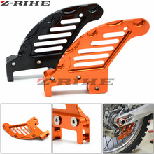 CNC Aluminum Motorcycle Billet Rear Brake Disc Guard For KTM 125 250 350 450 525 530 SX SX-F EXC MXC XCW 2003-2017