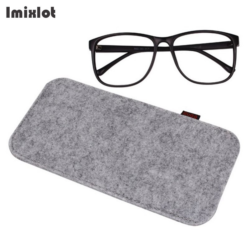 Colorful Sunglasses Case Organizer Bag For Women Men Glasses Box Felt Sunglasses Bag Eyeglasses Cases Eyewear Accessories Refreshing And Enriching The Saliva