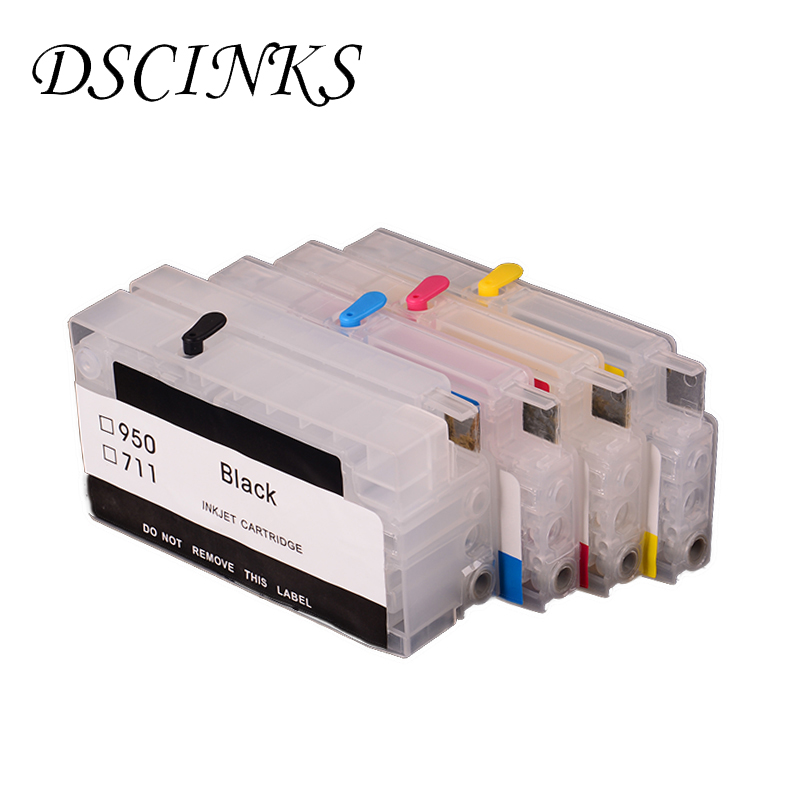 все цены на 4 colors 950 951 Refill Ink Cartridge For HP 950XL 951 Officejet Pro 8100 8600 8630 8610 8620 8680 8615 8625 251dw 276dw printer онлайн