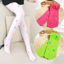 2pcs/pack Child Stockings Sping Summer Seven Multicolour Girls Pantyhose Thin Breathable Baby Legging Kids Long