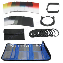 24pcs Full + Graduated Color Filter Set ND2 ND4 ND8 G.ND2 4 8 + filter case for Cokin P Series