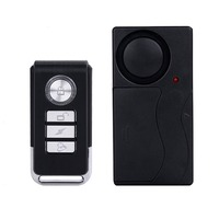 LESHP 433MHZ Wireless Remote Control Vibration Alarm Sensor Door Window Home House Security Sensor Detector 105dB