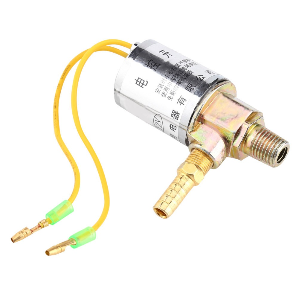 WALFRONT 12V Electric Solenoid Valve Air Horns & Air Ride Systems 1/4inch Metal Train Truck Air Horn Solenoid Valve BEST PRICE