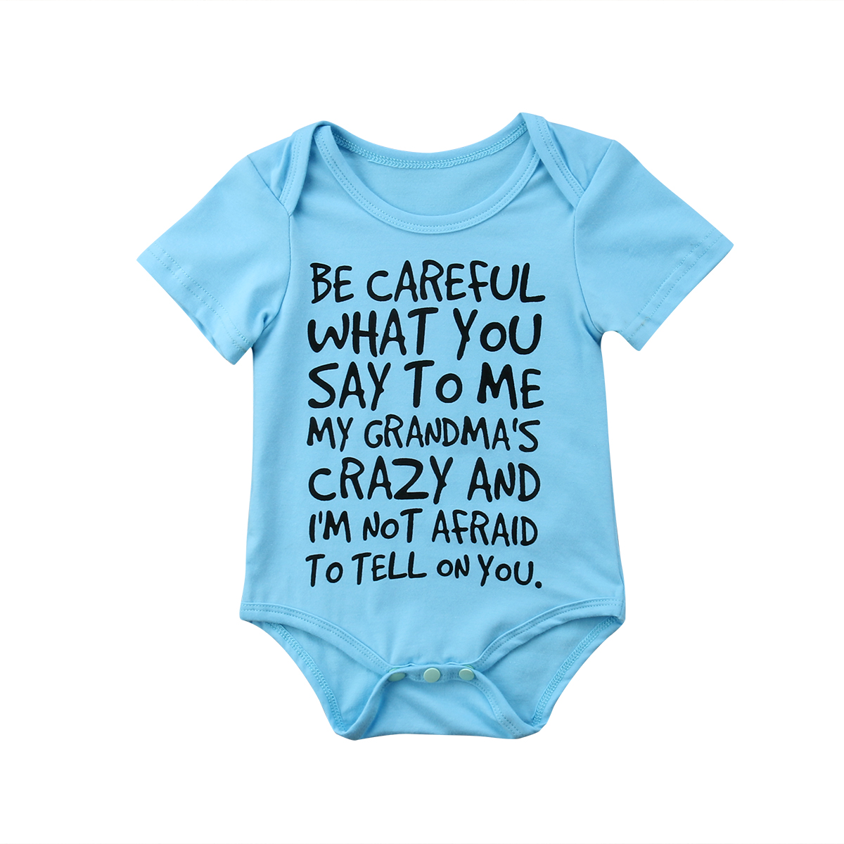 USA Baby Boy Girl Toddler Bodysuit Romper Jumpsuit Bodysuit Clothes Outfit 0-24M